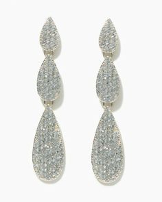 Twinkling Trio Earrings | Jewelry - RSVP Special Occasion | charming charlie