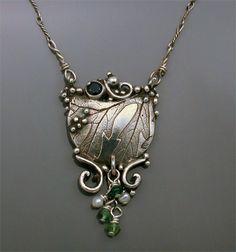 Victorian Garden Necklace- Holly Gage