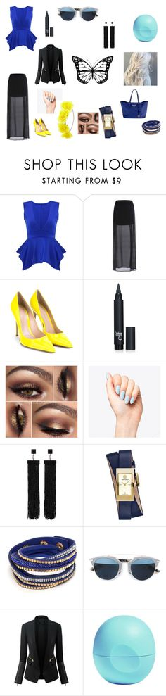 """""""fashion forward"""" by starlord221b ❤ liked on Polyvore featuring Gianvito Rossi, Tom Ford, Tory Burch, Christian Dior, Chicsense, Eos, Michael Kors, women's clothing, women's fashion and women"""