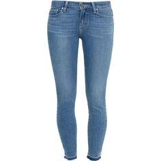 Paige Denim Skinny Un-Done Hem Jeans