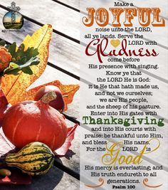 Thanksgiving Bible Verses, Thanksgiving History, Thanksgiving Crafts For Kids, Bible Verses Kjv, Bible Verses About Love, Love The Lord, Peace And Love, Psalm 100 Kjv, Word Express