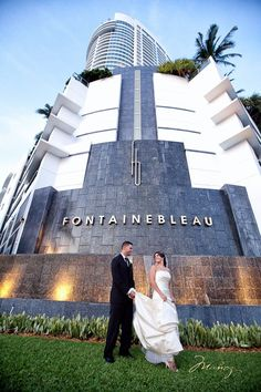 Beautiful Wedding Photography at Fontainebleau #Weddings #SomethingBleau #Miami #Fontainebleau