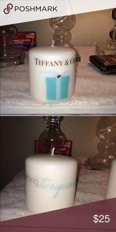 Candle set Tiffany blue candle set Other
