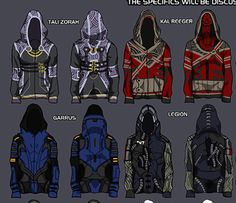 I would totally wear the Tali one.