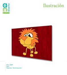León Trazo con Illustrator