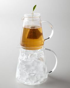 Tea Over Ice Pitcher by Tea Forte at Horchow. #Horchow