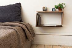 VinkL shelve used as bedside table