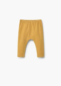 Cotton corduroy trousers -  Kids   MANGO Kids United Kingdom