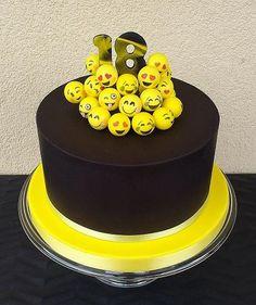 smajlíkovia  torta, ostané torty pre deti