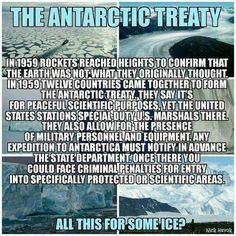 There is a treaty made by the United Nations, I have read it. They do permit people to fly and visit certain areas. And only if you get permission and have a meeting with a leader from each member of the U N that you have to schedule two months in advance. Parts of Antarctica are off limits to anyone except the people given permission by governments. No one ☝️ owns land in Antarctica. But is reserved for science what is so important about ice walls and water that they won't permit you to go…