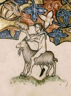 luttrell psalter goat - Google Search