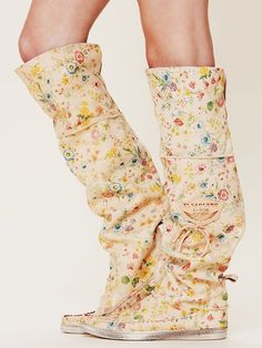 Um.... YES PLEASE!!!!!    Free People Fiorato Tall Moccasin.