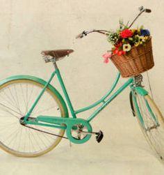 Bicicleta Vintage Retrô Feminina - Echo Vintage - Ìsis - Green