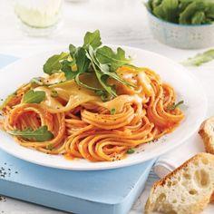 Spaghetti sauce rosée - Soupers de semaine - Recettes 5-15 - Recettes express 5/15 - Pratico Pratique