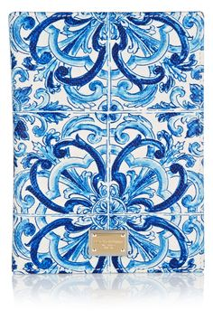 Dolce & Gabbana | Printed textured-leather passport cover | NET-A-PORTER.COM