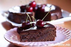 Mislykket sjokoladekake med moreller | Det søte liv
