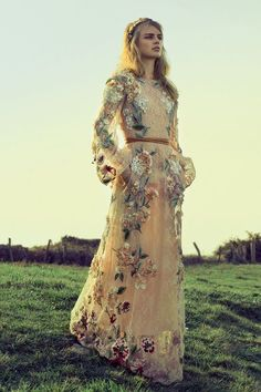 Valentino- If I ever remarry Mike-lol- and get a lot less chub- I would want to wear this, and be barefoot