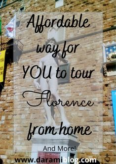 Do you miss traveling and exploring new places? You can still do it! Here are a few tours for you to explore Italy from home! #VR #virtualtours #exploreitaly #exploreflorence Best Flight Deals, Virtual Travel, Top Blogs, Online Travel, Visit Italy, Famous Places, Online Entrepreneur, True Facts, Travel Around The World