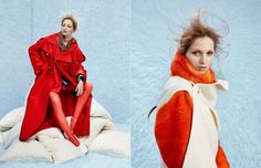 Coat & Jacket / Louise Assomo Jacket Scarf / Vivienne Westwood Shirt / victoria/tomas Colar / Zana Bayne Latex / Tres Bonjour at misencage.com Shoes / Pretty Ballerinas Opposite Fur / ONAR ONAR