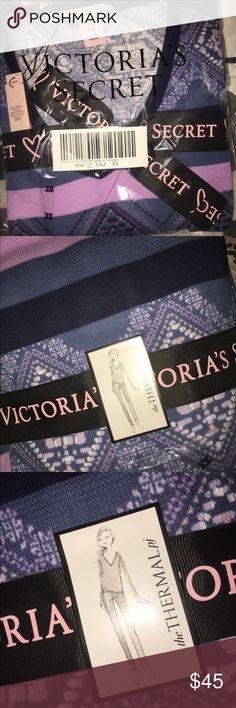 NWT Victoria's Secret Thermal Pajamas PJ set XS New with tags- Victoria's Secret Thermal pajamas - includes top and bottoms...Sz XS Victoria's Secret Intimates & Sleepwear Pajamas