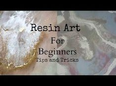 Top tips and tricks to create resin art for beginners - Art Resin Painting Epoxy Resin Art, Diy Resin Art, Diy Resin Crafts, Acrylic Resin, Diy Resin Painting, Epoxy Resin Countertop, Diy Epoxy, Hand Crafts, Acrylic Art