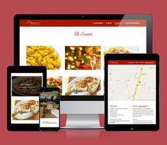 Ristorante Rugantino #website #web #webdesign #webdevelopment #layout #responsive #html #mrapps #restaurant #rugantino