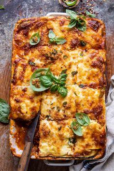 Baked Greek Chicken, Italian Chicken Sausage, Zucchini Lasagna, Veggie Lasagna, Cooking Recipes, Healthy Recipes, Rice Recipes, Veggie Recipes, Pasta Recipes