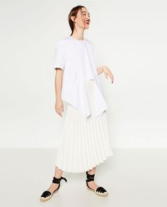 Image 1 of ACCORDION PLEAT SKIRT from Zara