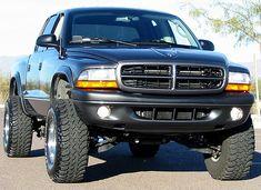"lifted dodge dakota truck | ... XDC Series 3"" Suspension Lift Kit 1997-2004 Dodge Dakota 4x4"