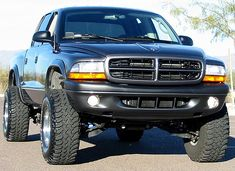 "lifted dodge dakota truck | ... XDC Series 3"" Suspension Lift Kit 1997-2004 Dodge Dakota 4x4"