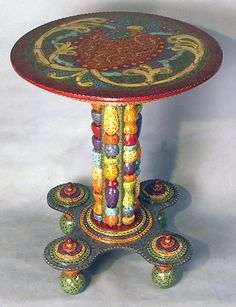 Whimsical Painted Table