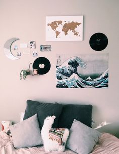 Room colors: learn how to choose with references and practical tips - Home Fashion Trend Beach Room Decor, Beachy Room, Cute Bedroom Decor, Cute Bedroom Ideas, Room Design Bedroom, Teen Room Decor, Room Ideas Bedroom, Bedroom Inspo, Bedroom Designs