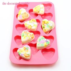 partying with conversation heart bark perfect for #Valentines Day