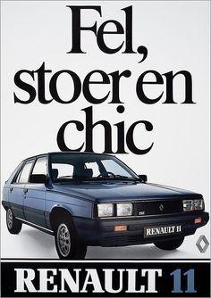 Fel, stoer en chic Renault 11 - Het Geheugen van Nederland - Online beeldbank van Archieven, Musea en Bibliotheken