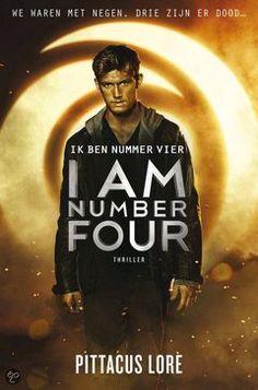 Lees hier de recensie van 'I am number Four' (Pittacus Lore)