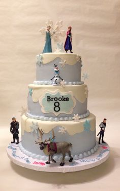 Bolo Frozen Ideias Lindas e Divertidas Bolo Frozen, Cake, Desserts, Food, Sprinkle Cakes, Cake Ideas, Pie Wedding Cake, Decorating Cakes, Tailgate Desserts