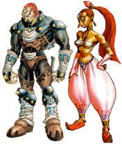 La tribu des Gerudos est un peuple de voleuses ou de pirates. C'est en effet un peuple essentiellement féminin, dans lequel un seul homme naît tous les siècles, pour gouverner les Gerudos (dans Ocarina of Time, Ganondorf). Elles vivent dans une forteresse près du désert hanté ou dans un repaire de pirates dans Majora's Mask. Exemple : Nabooru, Ganondorf.