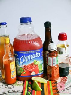 Enjoy a delicious beverage at home to celebrate National Michelada Day on July Check out this Best Mexican Michelada Recipe. Bloody Beer Recipe, Bloody Mary Recipe With Clamato, Best Bloody Mary Recipe, Bloody Mary Recipes, Best Red Beer Recipe, Best Micheladas Recipe, Alcohol Drink Recipes, Beer Recipes, Seafood