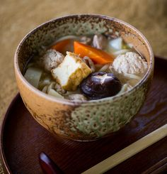 Chanko Nabe from episode 8 of Destination Flavour Japan. http://gustotv.com/recipes/soups/chanko-nabe/