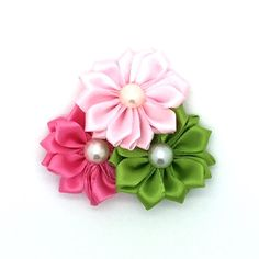 Patio Party Snap-In Dog Bow™ - Dog Collar Flower, Dog Accessory, Flower for Dog Collar, Wedding flowers for your Dog