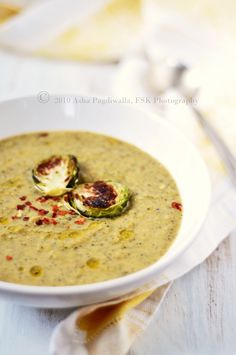 Roasted Butternut Squash and Broccoli Soup Farm to Table: A Simple Fall Lunch - Soup and Dessert
