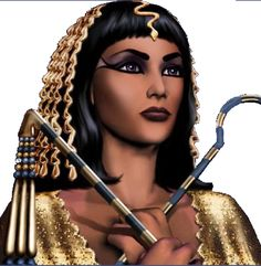 Cleopatra's real and full name was Cleopatra VII Philopator. This means, there were six Cleopatras before her. She was also the last pharaoh of Egypt. Egyptian Beauty, Egyptian Queen, Ancient Beauty, Egyptian Art, Egyptian Scarab, The Real Cleopatra, Queen Cleopatra, Isis Goddess, Egyptian Goddess
