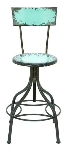 I like this look for a bar stool, but I would like it upholstered in some kind of green leather.