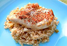Paprika Chicken and Rice Bake recipe #freezercooking #chicken #oamc