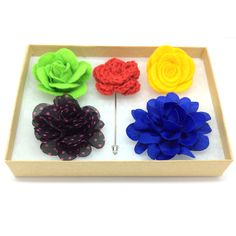 Original, hand-crafted lapel Accesories! Add to your current collection or start a new one!  3 for $25 | 5 for $35 | 10 for $70 Mix and match any color, any style, any size!  FREE shipping. Satisfaction guaranteed!  Lapel flowers, Accessories, graduations, grads, weddings, summer 2014, men's fashion, men's Accessories, gq, handsome, men's style