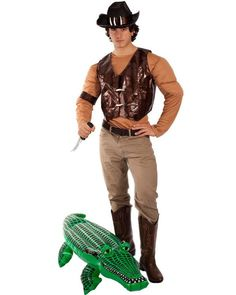 Australian Icon Dundee Crocodile Hunter Mens Costume  sc 1 st  Pinterest & 23 best Australia Day Costumes u0026 Ideas images on Pinterest ...