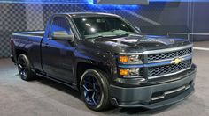 View detailed pictures that accompany our Chevrolet Silverado Cheyenne Concept: SEMA 2013 article with close-up photos of exterior and interior features. (12 photos)