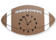 Football Clock by Trend Lab, http://www.amazon.com/dp/B001P8TKIE/ref=cm_sw_r_pi_dp_VQIbqb0Y3AXPJ