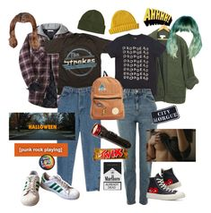 Hooligans by organicpeach on Polyvore featuring polyvore, Topshop, adidas, Converse, Billabong, Patagonia, Lowie, Other, fashion, style and clothing