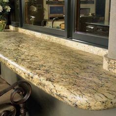 Desert Amarillo Granite Countertop. See More. Great For Opening The Kitchen  Window And Handing Food In And Out To The Loggia.